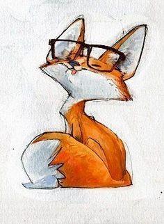 24 ideas for drawing tattoo animal fox illustration - My list of beautiful animals Animal Drawings, Cute Drawings, Simple Drawings, Cute Fox Drawing, Fox Cartoon Drawing, Giraffe Drawing, Fuchs Illustration, Fox Art, Animal Tattoos
