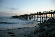 Oceanside pier sunset!