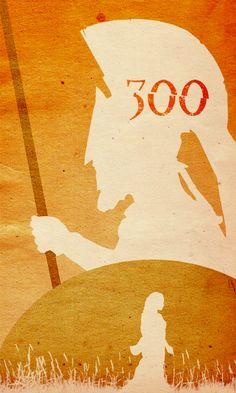 300 ~ Alternative Movie Poster by Travis English Minimal Movie Posters, Cool Posters, Film Posters, 300 Movie, Love Movie, Morning Cartoon, Pulp, Alternative Movie Posters, Movie Poster Art