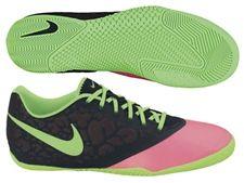 c3c44fbea07 Nike5 Elastico Pro II Indoor Soccer Shoes (Pink Flash Black Neo Lime)