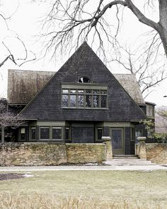 Frank Lloyd Wright's Home and Studio in Oak Park, IL. I was here in spring of 1988! ~ Jill