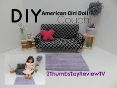 Do you want to make your own American Girl doll furniture? These projects are the perfect fit for any 18 inch doll. And we have dollhouse plans too...