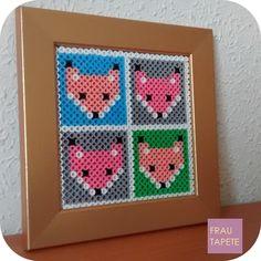 Zorros   Foxes [Hama Beads]