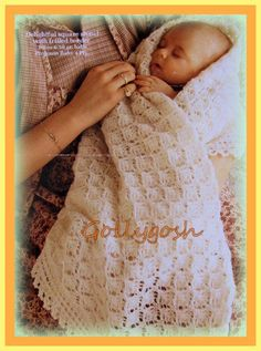 PDF Knitting Pattern for Adorable Heirloom Baby by ohmygoshmygolly