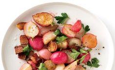 Sautéed Radishes with Bacon