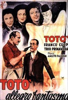 CineMaestri: L'allegro fantasma #totò #trioprimavera #luigipavese
