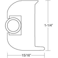 TACO Flex Vinyl Rub Rail Kit - White w/White Insert - 50' - https://www.boatpartsforless.com/shop/taco-flex-vinyl-rub-rail-kit-white-wwhite-insert-50/