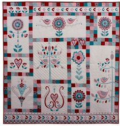 57 Best Hugs N Kisses Designs Images In 2019 Embroidery Quilt