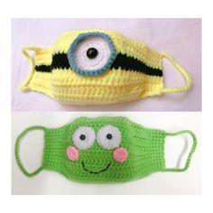 Crochet Diy, Slip Stitch Crochet, Bikini Crochet, Crochet Mask, Crochet Faces, Crochet For Kids, Crochet Hooks, Tutorial Crochet, Minion 2