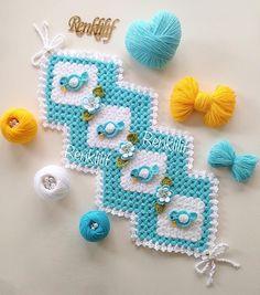 Uzun zigzag kenarlı lif modeli - 2018 Lif Modelleri Baby Knitting Patterns, Crochet Patterns, Filet Crochet, Diy And Crafts, Crochet Earrings, Kids Rugs, Jewelry, Seals, Carpet