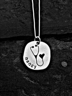 Hey, I found this really awesome Etsy listing at https://www.etsy.com/listing/195625480/special-nurse-heart-stethoscope-necklace