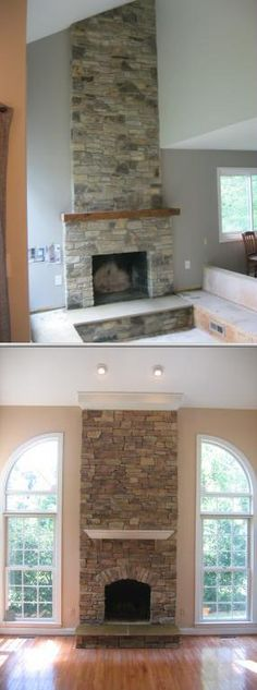 1000 Images About Fireplace On Pinterest Stone Fireplaces Mantles