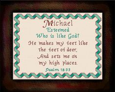 Caleb - Name Blessings Personalized Cross Stitch Design from Joyful Expressions Cross Stitch Designs, Cross Stitch Patterns, Stitching Patterns, Knit Patterns, Joshua Name, Bible Meaning, Craft Supplies Online, Names With Meaning, Gifts For Family