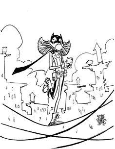 Batgirl by Skottie Young *