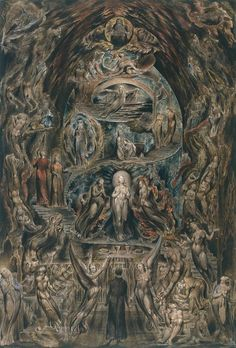 William Blake. Epitome of James Hervey's Meditations Among the Tombs. 1825