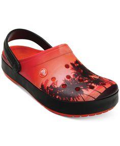 7a4b01254ec0 Crocs Women s Crocband Tropics Clogs   Reviews - Shoes - Macy s