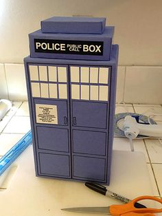 Doctor Who party tardis Doctor Who Birthday, Doctor Who Party, 9th Birthday, Birthday Party Themes, Birthday Ideas, Tardis, Party Planning, Party Time, At Least