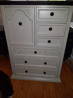 Door Furniture, Furniture Refinishing, Red, Home Decor, Decoration Home, Room Decor, Interior Decorating