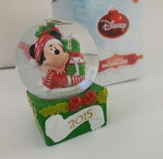 MICKEY MOUSE Disney Snowglobe JC Penney Globe Christmas 2015 #DisneyJCPenney #Snowglobes