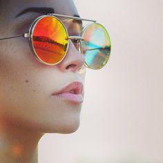 edfc109c084 Retro Steampunk Revo Flip Up Sunglasses