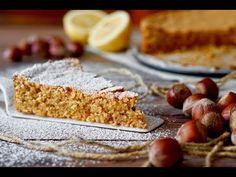 Torta alle Nocciole e Limone - 180°C di Dolcezza Torte Cake, Biscotti, Allrecipes, Banana Bread, Tart, Buffet, Cereal, Food And Drink, Gluten Free