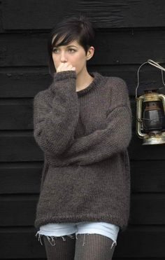 Image result for easy knitted sweater patterns for beginners