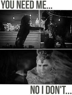 """Regina vs. The Evil Queen  5x22/5x23 """"Only You"""" / """"An Untold Story """" #onceuponatime  #ouat #once"""