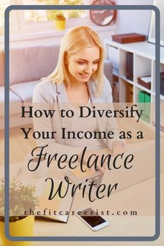How to diversify your income as a freelance writer. No matter what your side hustle, it's always a good idea to have multiple income streams! If you're already freelance writing, here's the top 5 ways to expand your business and grow your revenue! Start A Business From Home, Work From Home Moms, Home Based Business, Business Ideas, Article Writing, Writing Tips, Make Money Online, How To Make Money, Writing Portfolio