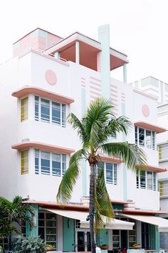 Miami Beach architectural district.