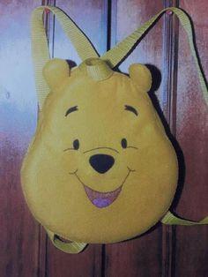 VIVA ARTESANATO: Bolsinha da Turma do Ursinho Pooh com molde