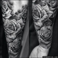 Might do something like this for the one on my leg