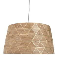 Gilt Limited Edition Pendant 46cm | Freedom Furniture and Homewares