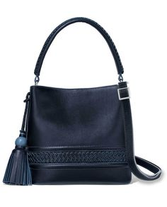 This blue leather Brighton bag is big enough to fit everything you need   theclothingcove   4d71c12c36de4