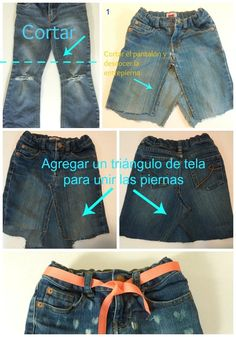 b30cf7081 Las 62 mejores imágenes de faldas de jeans en 2018 | Faldas de ...