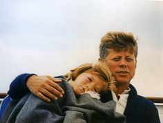 Family photos of John F Kennedy, Jackie Kennedy, JFK Jr., and the rest of the Kennedy family on boats Caroline Kennedy, Jackie Kennedy, Les Kennedy, Sweet Caroline, Jfk Jr, Dc Vibe, Familia Kennedy, Brave, John Fitzgerald