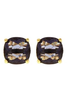 """Each stone is specially faceted for extra shine, ensuring the Charlotte Earrings will catch the light and eyes, alike.    Measures: 0.5"""" diameter   Charlotte Earrings by Fornash. Accessories - Jewelry - Earrings - Studs Virginia"""