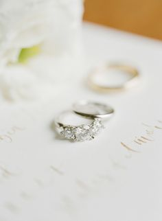 Triple diamond ring: http://www.stylemepretty.com/2017/02/13/destination-istanbul-wedding/ Photography: Greg Finck - http://www.gregfinck.com/