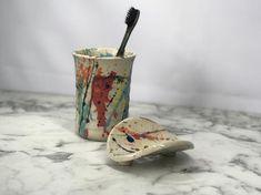 Small Bees, Toothbrush Holder, Tea Pots, Soap, Handmade, Etsy, Awesome, Hand Made, Tea Pot