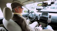 google car driver who is legally blind