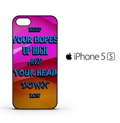 A Day To Remember Quote white D0279 iPhone 5 | 5S | SE Case