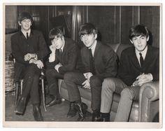 The Beatles in Shieffeld City Hall on November 2, 1963