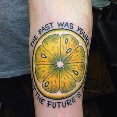 lemon tattoo - Google Search
