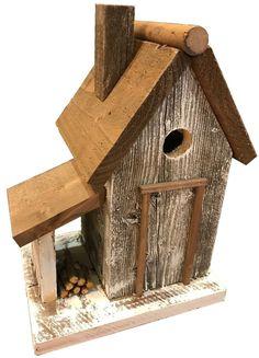 Home Bazaar Warwick Woodcutters Cottage Bird House Wooden Bird Houses, Bird Houses Diy, Bird House Plans, Bird House Kits, Birdhouse Designs, Unique Birdhouses, Diy Bird Feeder, Bird Feeder Plans, Bird Boxes