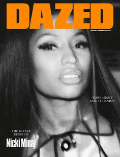 Back and more unapologetic than ever, Nicki Minaj fronts the autumn/winter issue of Dazed ⠀ Photography Steven Klein ⠀ Styling Robbie Spencer ⠀ ⠀ On sale September 19th