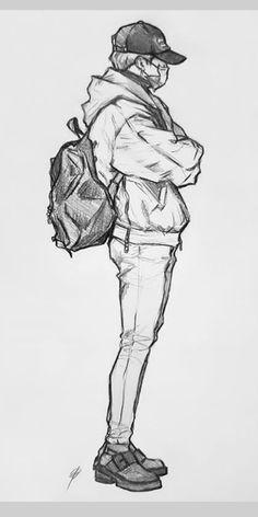 Jimin Fanart, Kpop Fanart, Kpop Drawings, Art Drawings Sketches Simple, Pencil Art Drawings, Drawing Art, Cartoon Kunst, Cartoon Art, Dibujos Cute
