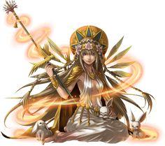 No.519 生命之光 ‧ 伊施妲 Eostre Goddess of Spring #神魔之塔 #神魔_公會任務