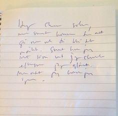 """Kan man rädda sin handstil? Nordegren & Epstein i P1 """"...Med oss har vi även bildläraren och skrivstilskämpen Hans Presto."""" 25 november 2013"""
