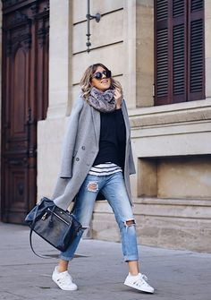 Stylish outfit idea to copy ♥ For more inspiration join our group Amazing Things ♥ You might also like these related products: - Skirts ->. Winter Skinny Jeans Outfits, Winter Coat Outfits, Classy Outfits, Stylish Outfits, Beautiful Outfits, Looks Chic, Casual Looks, Mode Outfits, Fashion Outfits