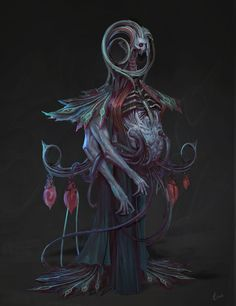 ArtStation - The Corrupted Mother , Amy Cornelson