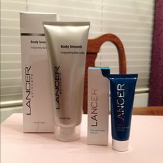 Lancer Body Smooth Invigorating Body Lotion ‼️NEW, in box‼️ Lancer Skincare body lotion, 4 fl. oz. and Lancer The Method Polish exfoliator, 0.5 oz. Pure minerals, plant enzymes, and a warming element make this polish a gentle skin resurfacing treatment. Lancer Skincare Other